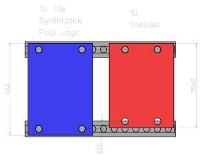 1U Tile フォーマットの違い